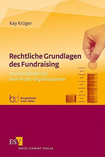 Rechtliche Grundlagen des Fundraising Buch von Anwalt Dr. Kay Krüger