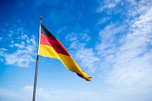 Öffentlich rechtliche Stiftung Deutschland Flagge