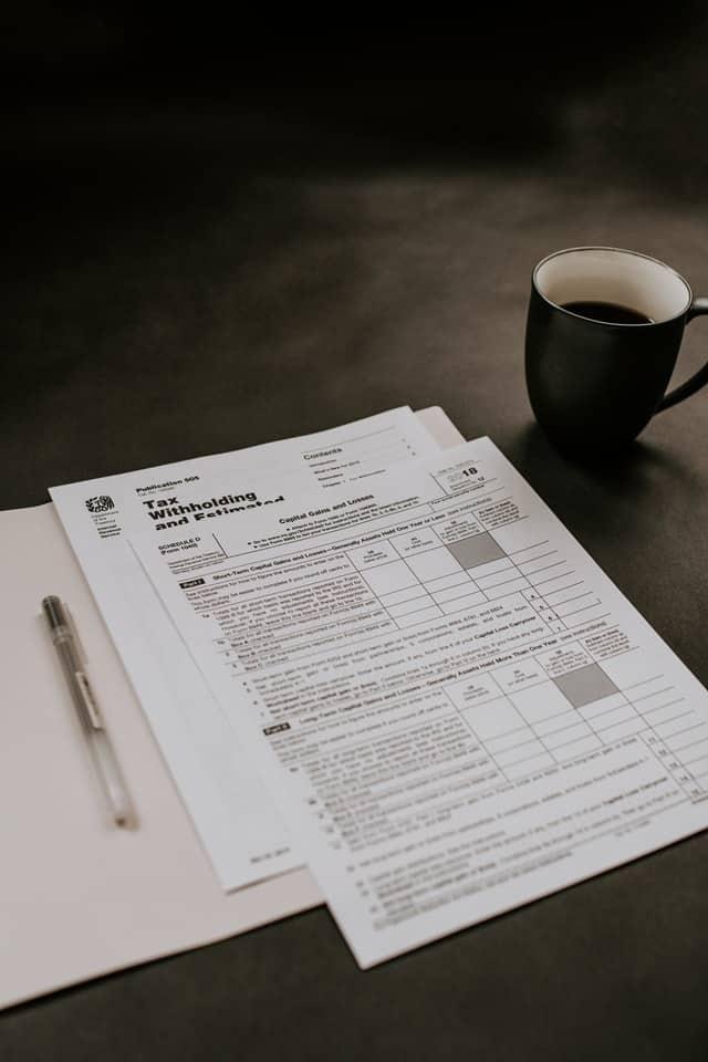 Stiftung Steuern Unterlagen