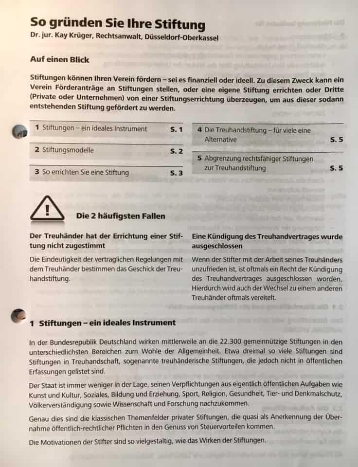 Haufe Verlag Anwalt Dr. Kay Krüger Beitrag 2