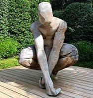 Bild einer Statue Kunst